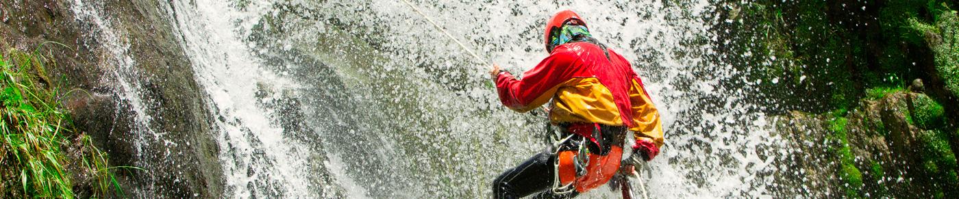 Canyoning en Ecuador